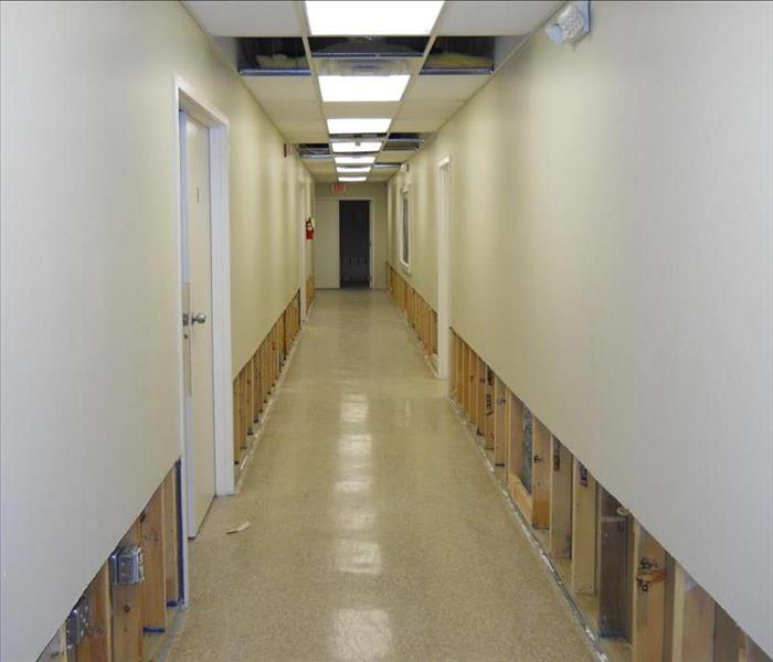 Commercial water damage in Vicksburg, MS After