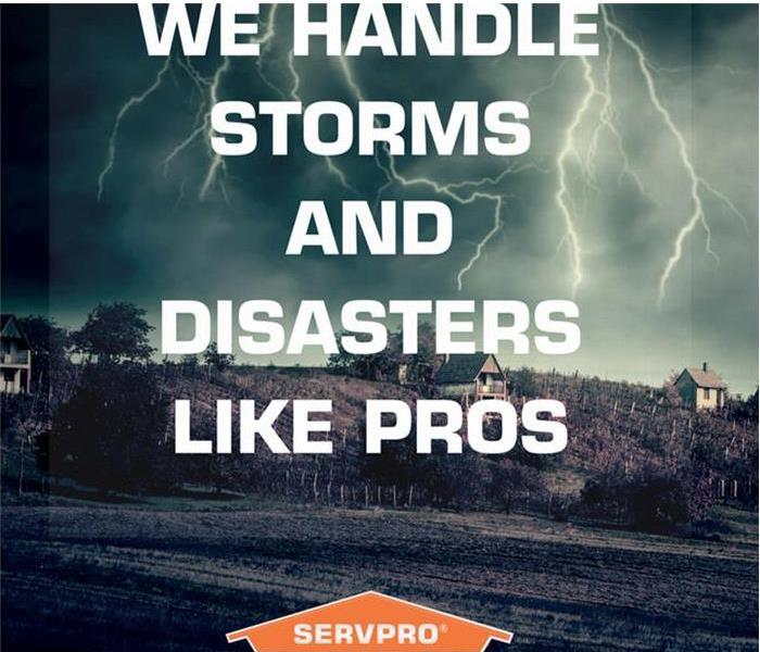 Storm Damage SERVPRO Of VIcksburg & Yazoo Is Always Ready For the Storm!