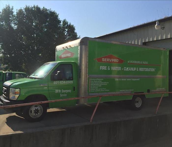 General  For Immediate Service in Vicksburg, Yazoo City or Port Gibson Call SERVPRO